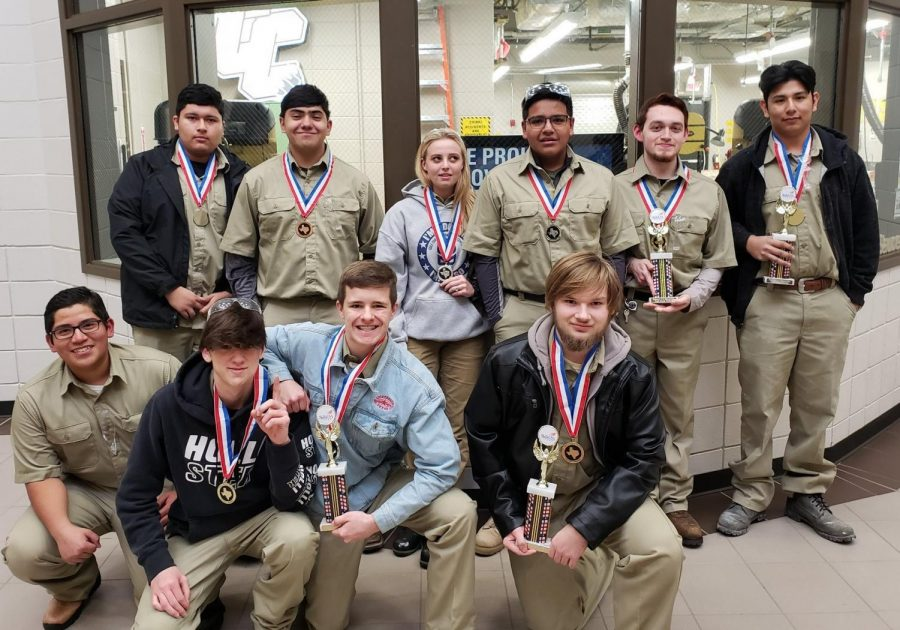 Construction SkillsUSA hosts district competition, advances to state meet