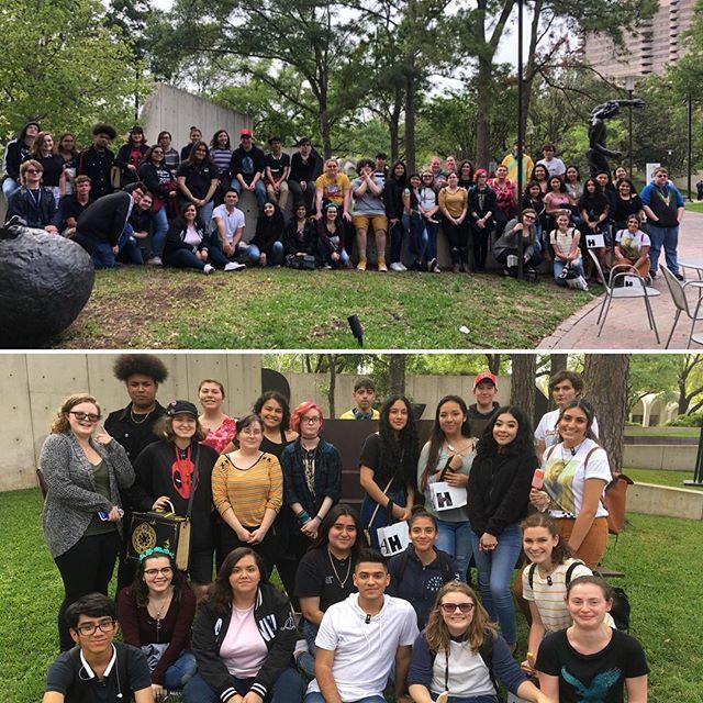 VAN GOGH. National Art Honor Society and AP European students travel to the Museum of Fine Arts, Houston April 6.