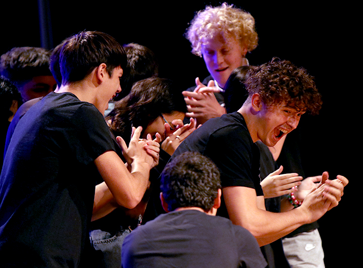 GALLERY: Theater improv show